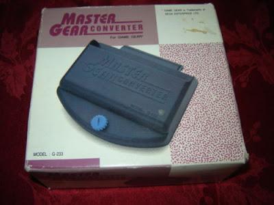 Sega Master Gear Converter