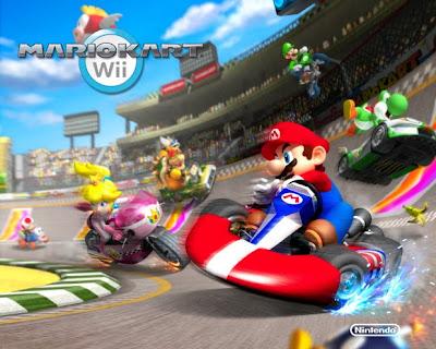 Mario Karu Wallpaper Wii