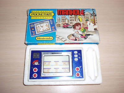 Pocketsize Wide Screen Manhole Game & Watch
