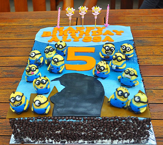 A Spoonful Of Sugah Despicable Me Birthday Cake
