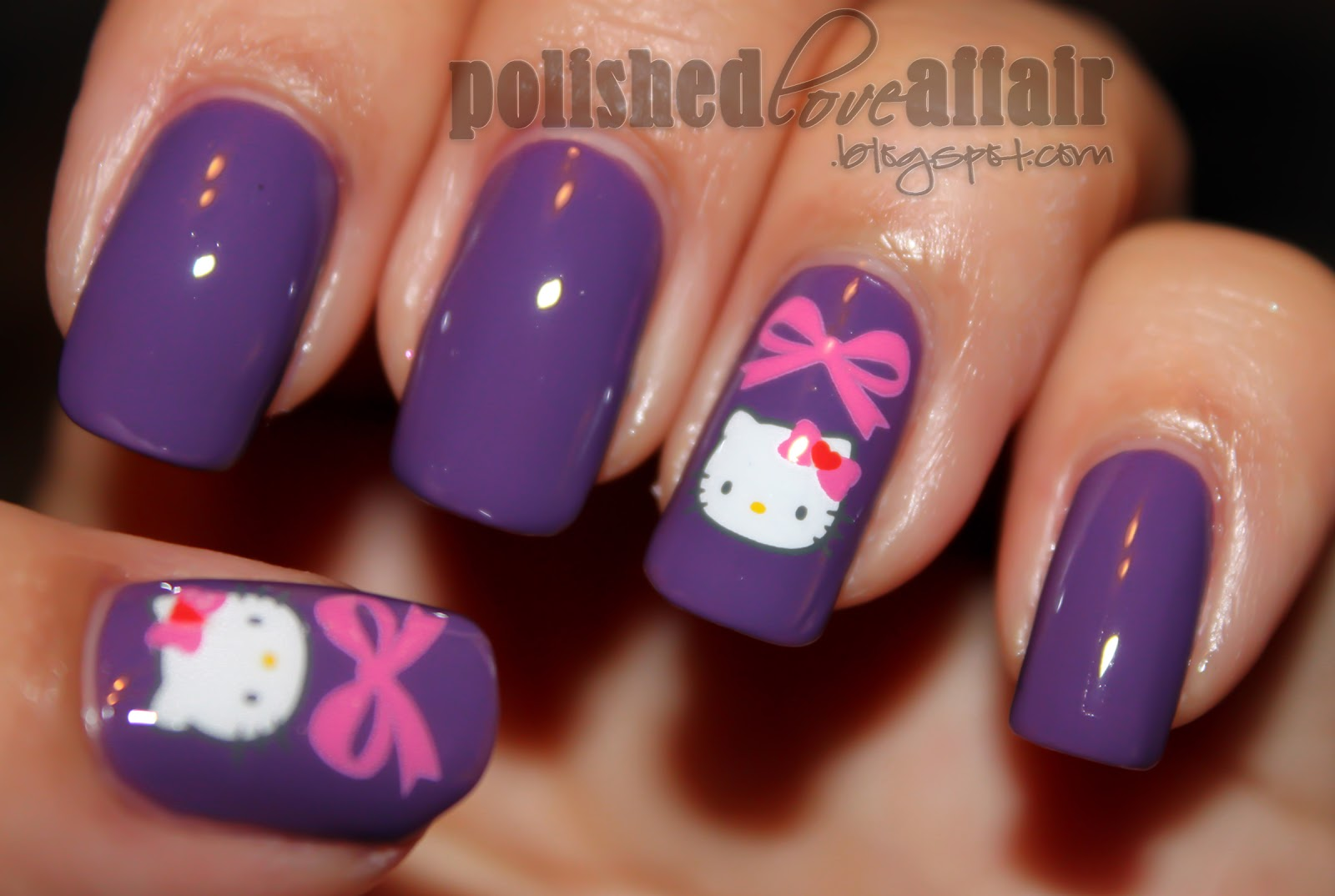The Cool Hello kitty japanese nail designs very cute Images