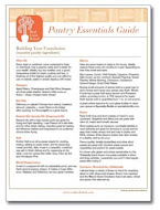 Purchase The Pantry Essentials Guide