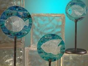 Autor: utilisima.com - Técnica: Pintura sobre vidrio
