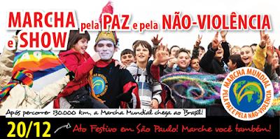 MidiaClipping - Marcha Mundial pela Paz e pela Não-Violência