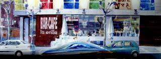 paisaje urbano cafe la orilla urban landscape