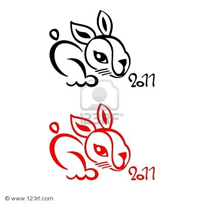 RABBIT SYMBOL 2011 CHINESE NEW YEAR (click image to zoom)