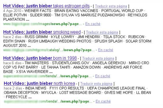 Justin Bieber I M Gay:  utilizando como gancho al cantante Justin Bieber