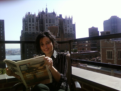 Eugenia Rico, una escritora en la luna
