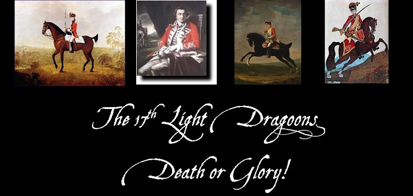 17th Light Dragoons in North America