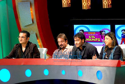 Ajay Devgan & Sanjay Dutt promote All The Best movie photo