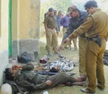 Maoist attack in Bihar fear in people photos