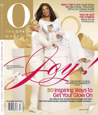 Oprah And Ellen on O Magazine Cover December 2009 pics