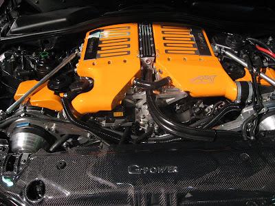 BMW M5 with 730 HP car engine photo