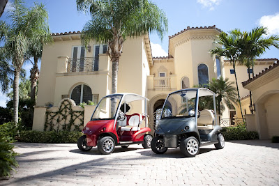 World's Most Exclusive Golf Cart pictures