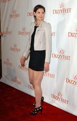 Katie Holmes Legi at Dizzy Feet Foundations Inaugural Celebration image