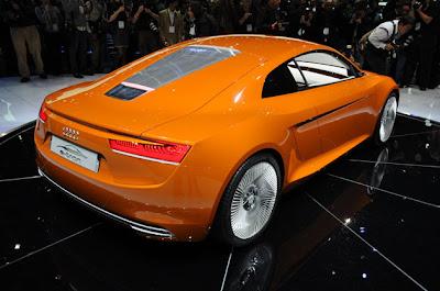 Audi E-Tron new pics