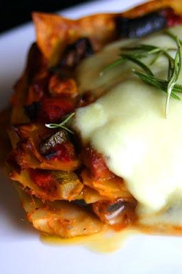 lasagna mozzarella ratataouille 1 pack of dry lasagna noodles about ...