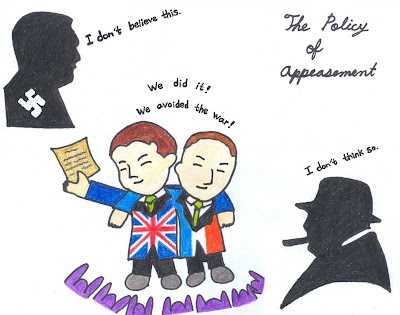 appeasement policy and the munich agreement essay