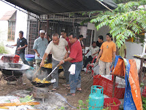 Kenduri Kahwin di Taman Kobena 10 Ogos 2008