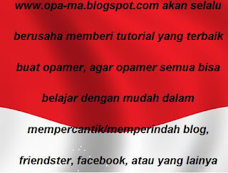 Gambar Background bendera indonesia Dibelakang Tulisan opa-ma.blogspot.com