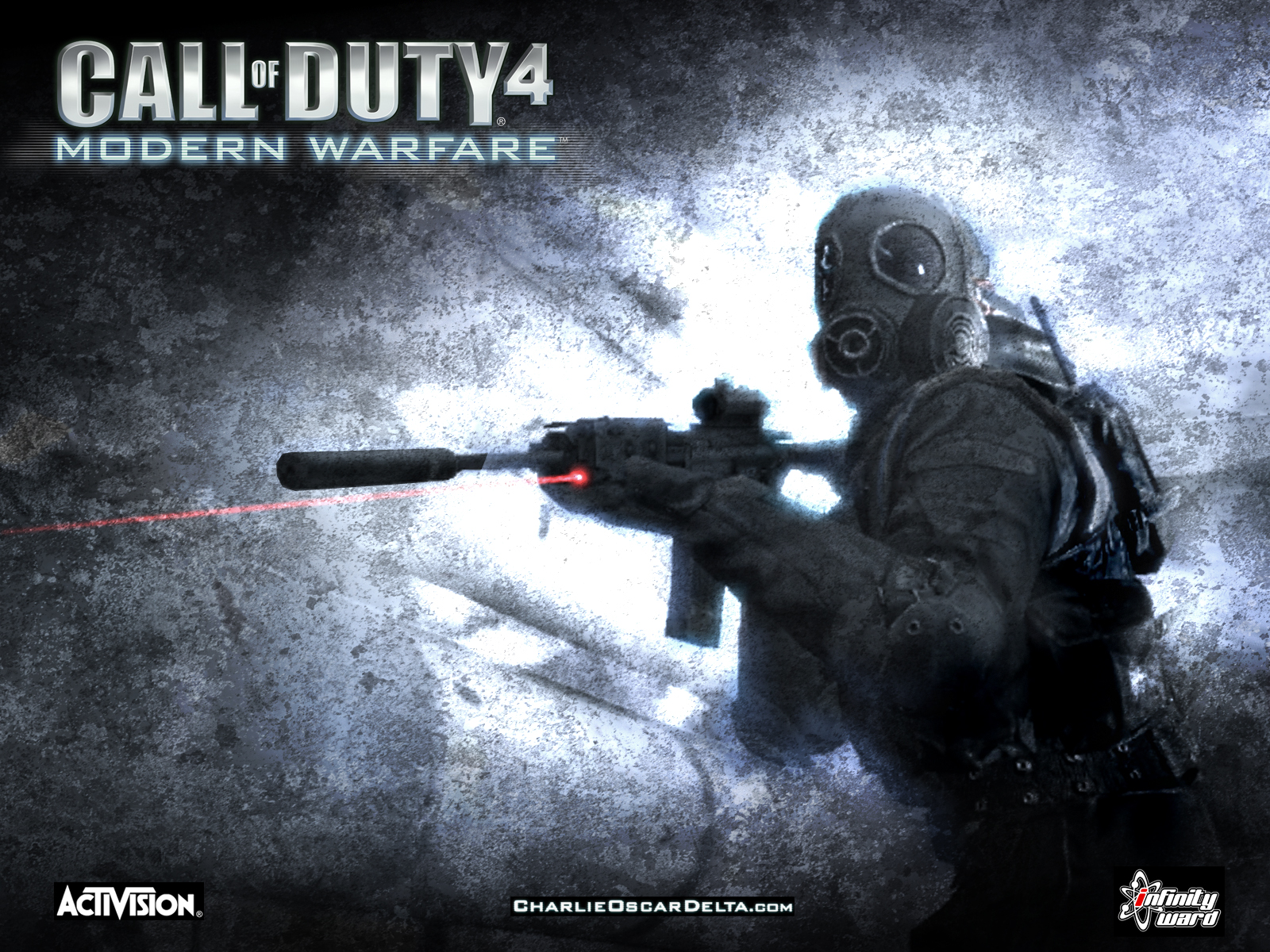 Любители поиграть по сети в Call of Duty 4.