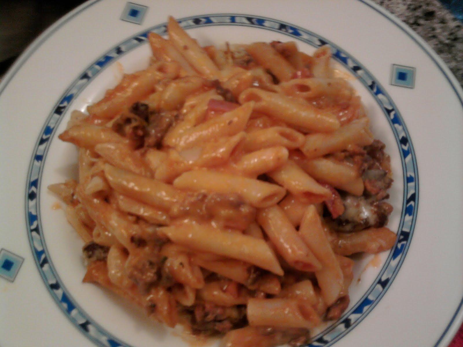 Leti en la cocina macarrones al horno - Macarrones con verduras al horno ...
