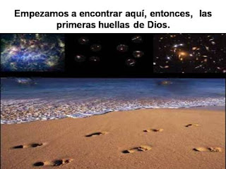 Huellas de Dios sobre la arena