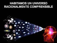 universo es comprensible a nuestros sentidos