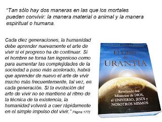El arte de vivir Libro de Urantia