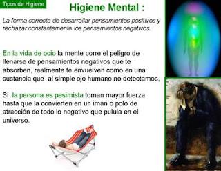 que es la higiene mental