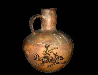 Ceramica contiene pintura de un fandor