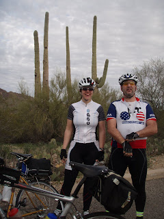 A fine day for a 300K - Saguaro National Park