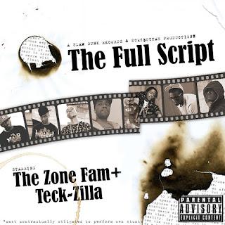 Cover Album of Zone Fam & Teck Zilla - The Full Script (2010)