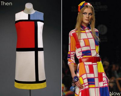 1960s Fashion Trends on Fashion Influenced By Historical Artistic Styles