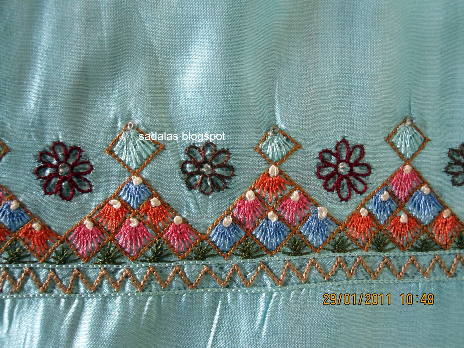 Embroidery Stitches By Hand For Sarees Ausbeta