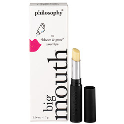 Philosophy, Philosophy Big Mouth Lip Plumper, lip balm, lips, makeup, skin, skincare, skin care