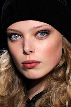 Nicole Miller, Fall 2010 Fashion Week, Mercedes-Benz Fashion Week, James Kaliardos, Kevin Ryan, makeup artist, hairstylist, backstage beauty, direct from the runway, M.A.C, MAC, MAC Cosmetics