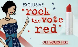 Stila, lipstick, Rock the Vote, red lipstick