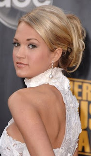 Carrie Underwood, red carpet, American Music Awards, AMAs, peach lipgloss, lipgloss, gloss, lip gloss