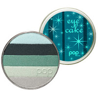 Pop Beauty, Eye Cake, Teal Cake, pastel, pastel makeup, teal