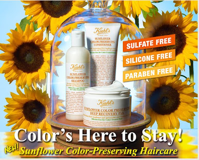 Kiehl's, Kiehl's Sunflower Color Preserving Shampoo Conditioner, hair, hair products, shampoo, conditioner