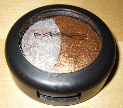 MAC, M.A.C, MAC Cosmetics, M.A.C Cosmetics, Mineralize, M.A.C Mineralize, MAC Mineralize, Mineralize Eyeshadow Duo, Mineralize Eye Shadow Duo, Mayhem, eyeshadow, eye shadow, shadow, bronze, silver, glitter, shimmer, shimmery, sparkle, sparkly, glittery