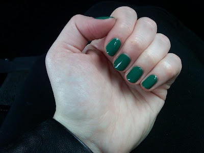 OPI, OPI Jade is the New Black, OPI Nail Polish, nail, nails, nail polish, polish, lacquer, nail lacquer, mani, manicure, mani of the week