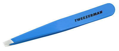 Tweezerman, Tweezerman Tweezers, Tweezerman Slant Tweezers, Tweezerman Blue Jewel Slant Tweezers, tweeze, tweezers, brow, brows, eyebrow, eyebrows, A Month of Beautiful Giveaways, beauty giveaway, giveaway