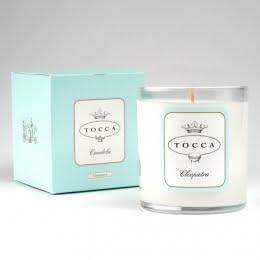 Tocca, Tocca candle, Tocca Candela, Tocca Cleopatra, Tocca Cleopatra Candela, Tocca Cleopatra Candle, candle