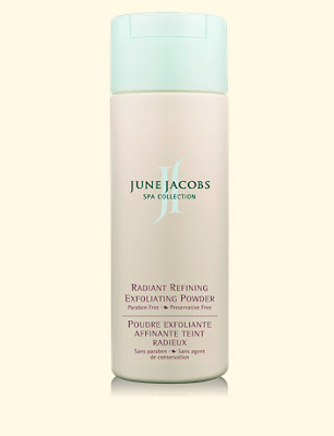 June Jacobs, June Jacobs Radiant Refining Exfoliating Powder, exfoliate, exfoliator, scrub, face scrub, skin, skincare, skin care, giveaway, beauty giveaway, A Month of Beautiful Giveaways