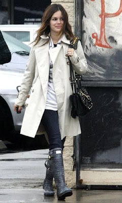 All Saints, All Saints Alexandria Trench, trench, trench coat, coat, outerwear, Rachel Bilson, celeb, celebrity, celeb sighting