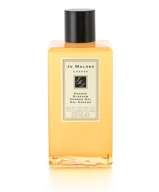 Jo Malone, Jo Malone Orange Blossom, Jo Malone Orange Blossom Shower Gel, citrus, citrus products, Summer's Best Citrus Products, shower, shower gel, body wash