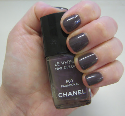 Chanel, Chanel nail polish, Chanel Le Vernis Nail Colour, Chanel Paradoxal, Chanel Paradoxal nail polish, Chanel Le Vernis Nail Colour Paradoxal, Paradoxal, nail, nails, nail polish, polish, lacquer, nail lacquer, mani, manicure, Mani of the Week