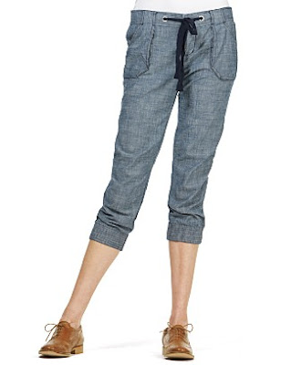Juicy Couture, Juicy Couture Chambray Pants, Juicy Couture pants, pants, chambray